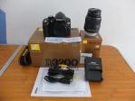Nikon D3200 kit 18-55mm SC 2xx Dikit Banget | Jual Beli Kamera Surabaya