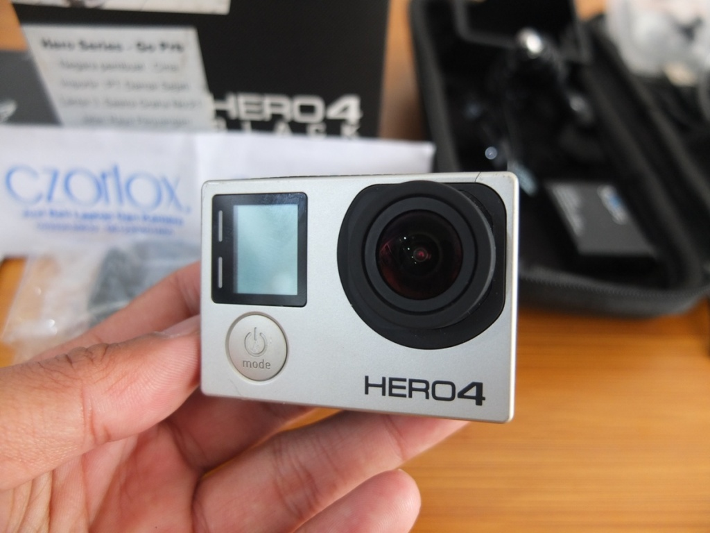 Jual Beli Laptop Kamera | surabaya | sidoarjo | malang | gersik | krian | gopro Hero 4 Black