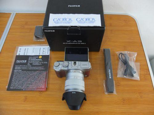 Fujifilm X-A3 Lensa 16-50mm Istimewa