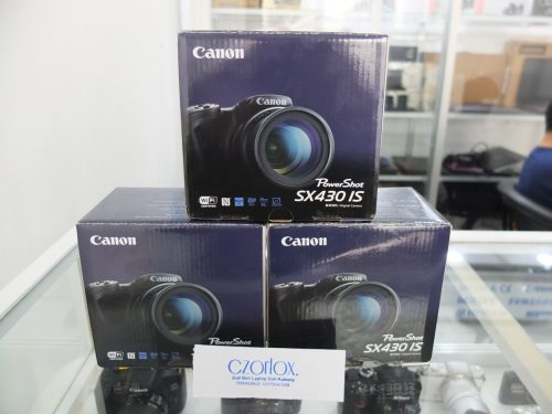 Canon Power Shot SX430IS Dijamin Mulus Masih  Ada Garansinya Sampai Oktober 2019