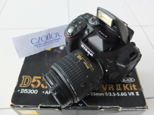 Nikon D5300 Kit AFS 18-55mm VR II SC 5.xxx
