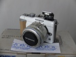 MIRRORLESS OLYMPUS E-PL1 KIT 14-42 ISTIMEWA