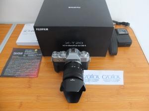 Fujifilm X-T20 With XC 16-50mm OIS II Black | Jual beli Kamera Surabaya