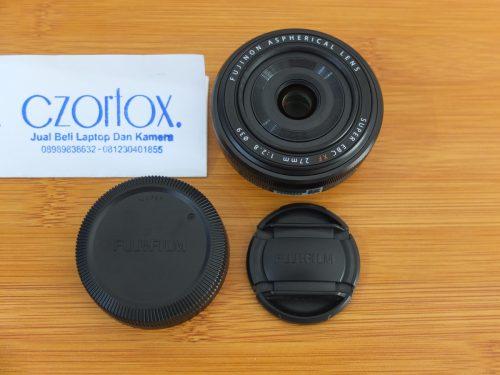 Lensa Fujifilm EBC XF 27mm F2.8 Istimewa