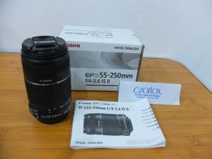 Lensa Canon EFS 55-250 mm IS II Like New