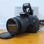 Canon 600D Kit 18-55mm Istimewa SC  2.xxx Like New