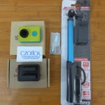 Xiaomi Yi Action Cam Internasional + Monopod Like new