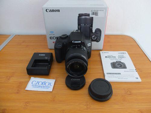 Canon 1300D Wi-Fi Lensa Kit 18-55mm Istimewa Mulus