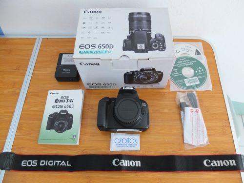 Canon 650D Body Only SC 7.xxx | Jual Beli Kamera Surabaya