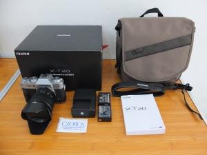 Fujifilm X-T20 XT20  kit 16-50mm OIS II Black | Jual Beli Kamera Surabaya