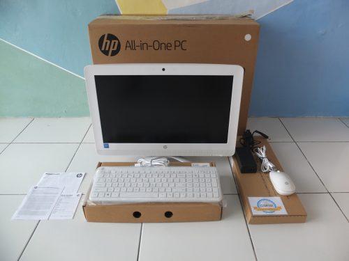 HP AIO 20-c315d J3060 Mulus Istimewa Like New