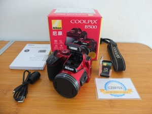 Nikon Coolpix B500 With Zoom Optical 40x
