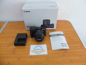 Canon M3 Kit 15-45 mm STM Istimewa Like New