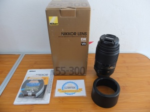 Lensa Nikon Tele AF-S 55-300mm VR LIKE NEW