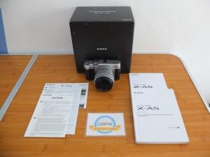 Fujifilm X-A5 Lensa 15-45mm