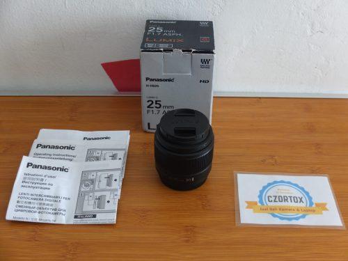 LENSA LUMIX 25 mm F1.7.ASPH Like New