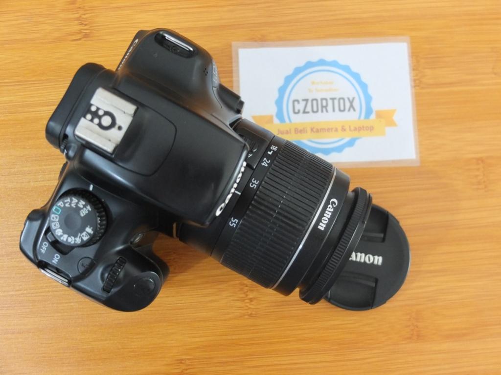 Jual Canon 1100d Black Edition Kitt 18-55mm Muluss Surabaya