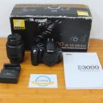 Nikon D3000 Kit 18-55VR Murah Meriah