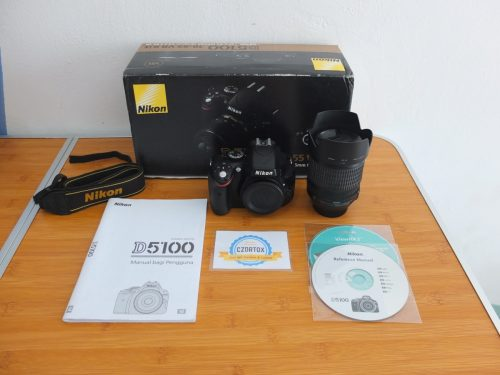 Nikon D5100 Kit 18-105 mm VR SC 17 ribu