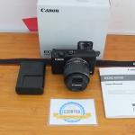 Canon M100 kit 15-45mm III Garansi Sampe April 2020 Like New