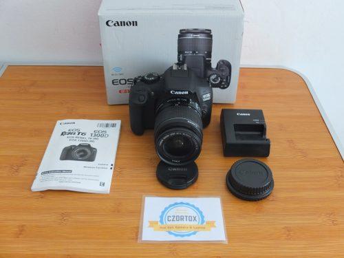 Canon 1300D Wi-Fi Lensa Kit 18-55mm Istimewa