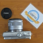 Canon M100 Kit 15-45mm Istimewa Garansi sampe November