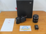 Mirrorless YI M1 Lensa Kit 42,5 mm F1.8 like new sensor sony