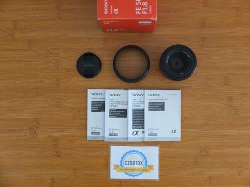 Lensa Sony FE 50 mm f1.8 Istimewa