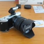 Samsung NX300 20 MP CMOS Smart WiFi Mirrorless