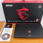 MSI GL62 6QF Core i7 6700HQ Ram 16gb SSD 128gb GTX 960M 4gb
