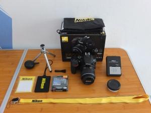 Nikon D5500 Kit 18-55 VR II Like new Sc 1 rb an Istimewa