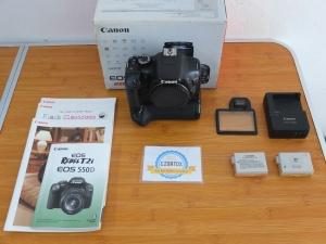Canon 550D Body Only SC 26xxx Plus BG