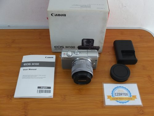 Canon M100 Kit 15-45mm Flip Screen
