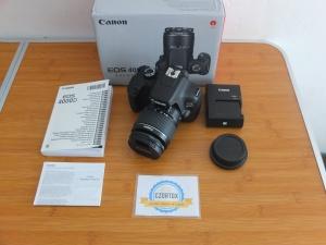 Canon 4000D  Lensa Kit 18-55mm Umur 3 Bulan