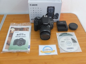 Canon 600D Kit 18-55 mm IS II Mulus SC 5XXX