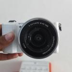 Sony A5000 Lensa 16-50mm OSS White
