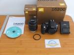 Nikon D5200 Kit 18-55mm SC 3.xxx Like New