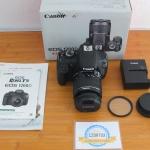 Canon 1200D Lensa Kit 18-55mm SC 2.xxx Like New