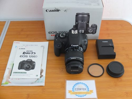 Canon 1200D Lensa Kit 18-55mm SC 2.xxx Like New