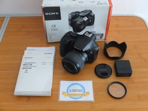 Mirrorless  Sony A3500 Kit 18-55mm
