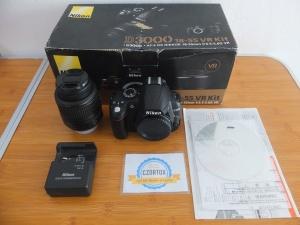 Nikon D3000 Kit 18-55m SC 5xxx
