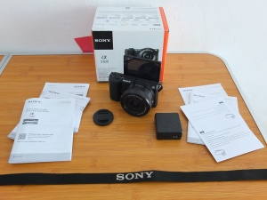 Sony A5100 Lensa 16-50mm SC 1.xxx