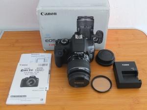 Canon 1300D Wi-Fi Lensa Kit 18-55mm Like New