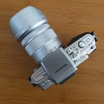 Olympus E-PL6 Lensa Tele Lumix 35-100 mm