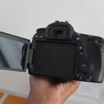 Canon EOS 70d Lensa kit 18-55mm Sc 7.Xxx Istimewa