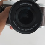 Samsung NX300 Lensa kit 18-55mm Wifi