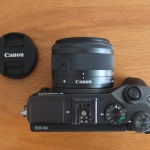 Canon EOS M6 Kit EF-M15-45mm IS STM Touchscreen