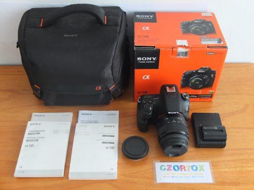 Sony A58 18-55 mm Mulus