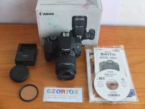 Canon 700D Kit 18-55mm STM Mulus SC 3xxx