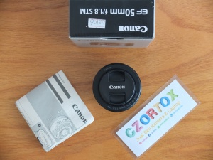 Lensa Canon EF 50mm F1.8  Mulus